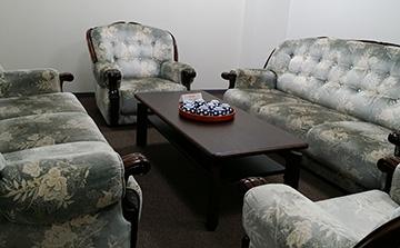 休憩室「花の間」